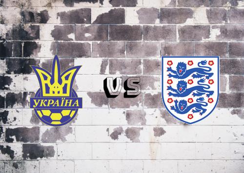 Ucrania vs Inglaterra  Resumen y Partido Completo