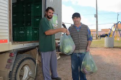 Sacolão Verde: troca de recicláveis por hortifrutis