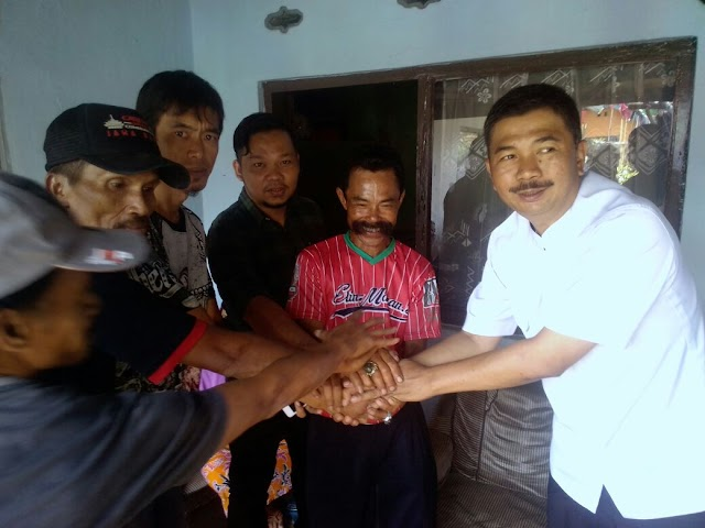 Maman Cawabup Bandung Barat, Menyapa Dan Apresiasi Dukungan Forum Pemuda Distrik 23 Desa Kertamulya