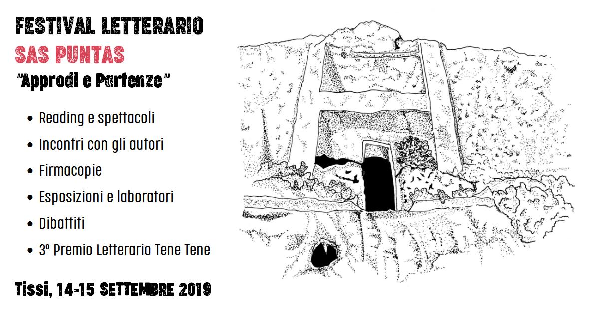Seconda edizione del Festival Letterario Sas Puntas (Tissi, 14-15 settembre)