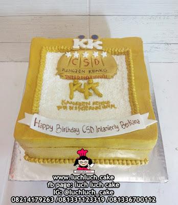 Kue Tart Logo Kantor - Kangzen Kenko International