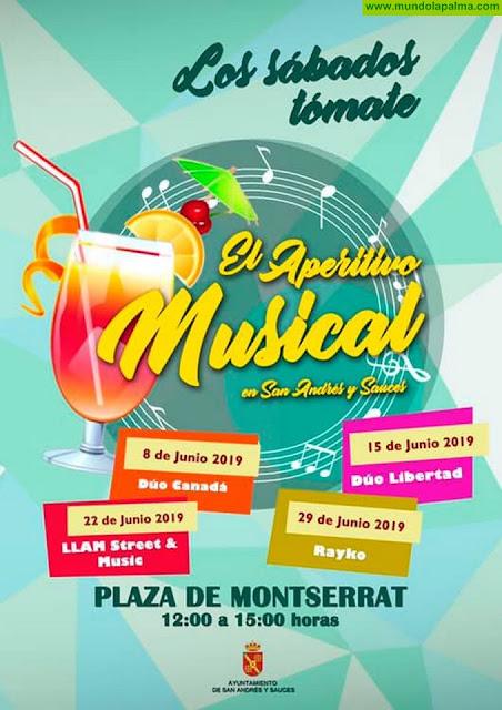 """El Aperitivo Musical """"Los Sábados Tomate"""" en San Andrés y Sauces - Junio 2019"""