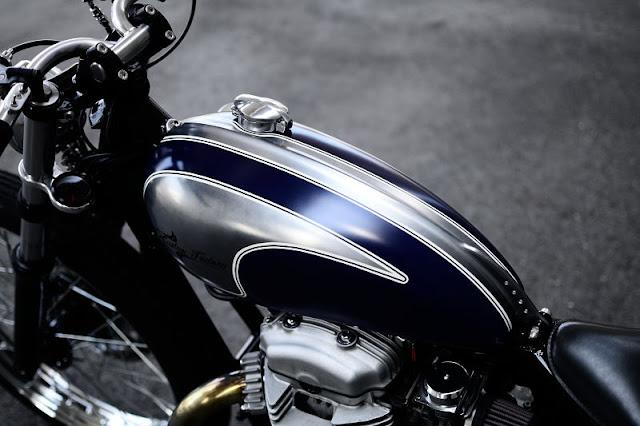 Kawasaki W650 By Kid Custom Factory Hell Kustom