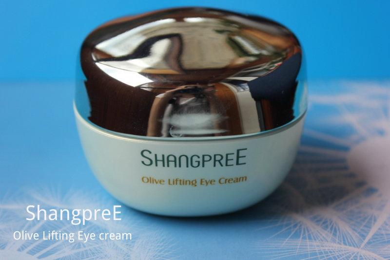 Отзыв: Оливковый крем для кожи вокруг глаз с эффектом лифтинга – ShangpreE Olive Lifting Eye cream.