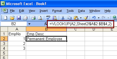 Infallible Techie: VLOOKUP() example in Excel