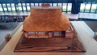 絹商人の家の模型