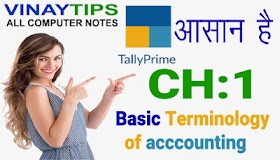Chapter 1: Basic Terminology of Accounting : Part 1