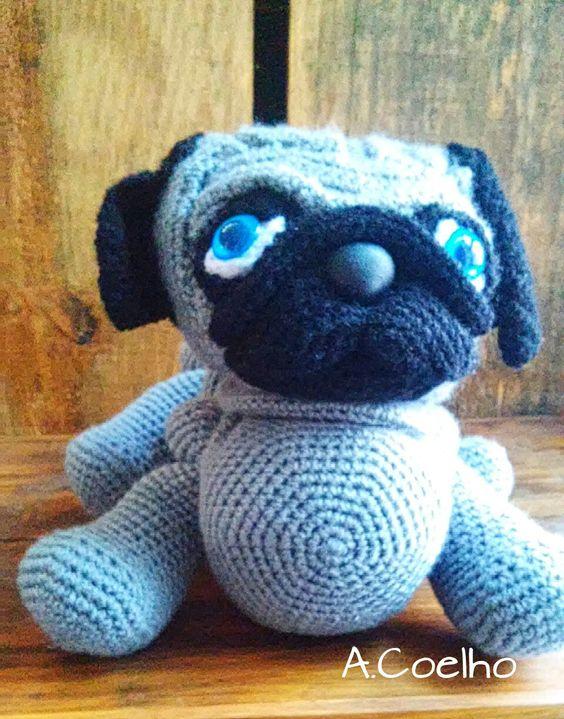 Baby Pug Dog amigurumi pattern - Amigurumi Today | 719x564