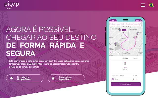 Aplicativo de motos fará preço promocional para levar candidatos aos locais de prova do Enem
