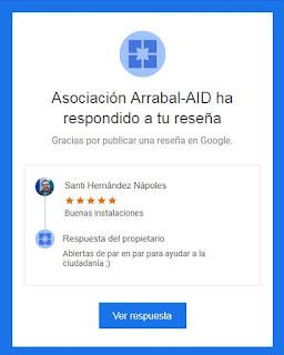 Valoración de la Asociación Arrabal AID en Málaga
