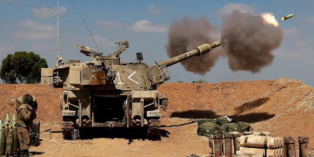 Pasukan Dan Tank Israel Kepung Jalur Gaza, Serangan Udara Berlanjut