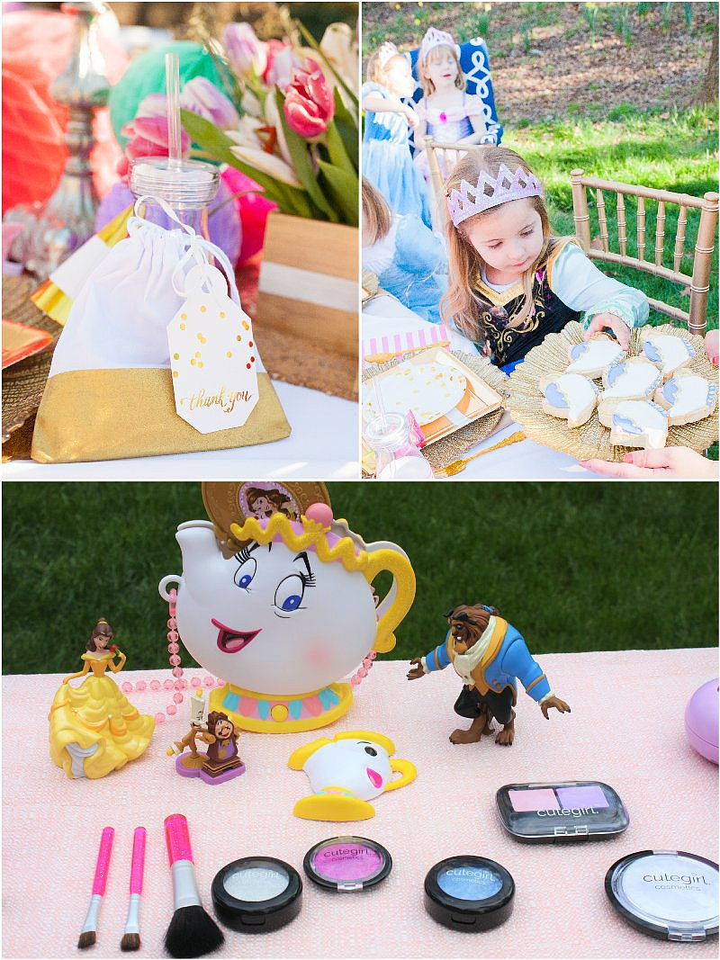 a beauty the beast inspired birthday party party ideas. Black Bedroom Furniture Sets. Home Design Ideas