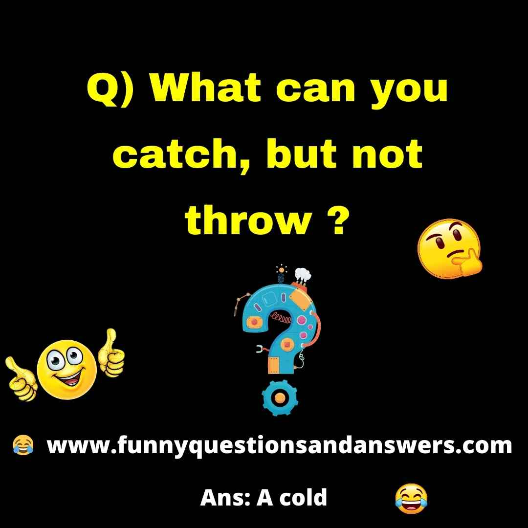 Funny Riddles With Answers For Children