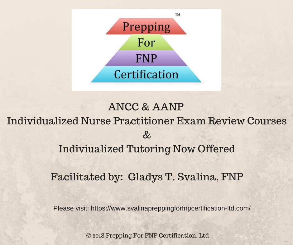 Prepping For Fnp Certification