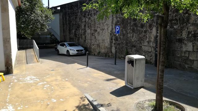 Parque de Estacionamento para pessoas incapacitadas