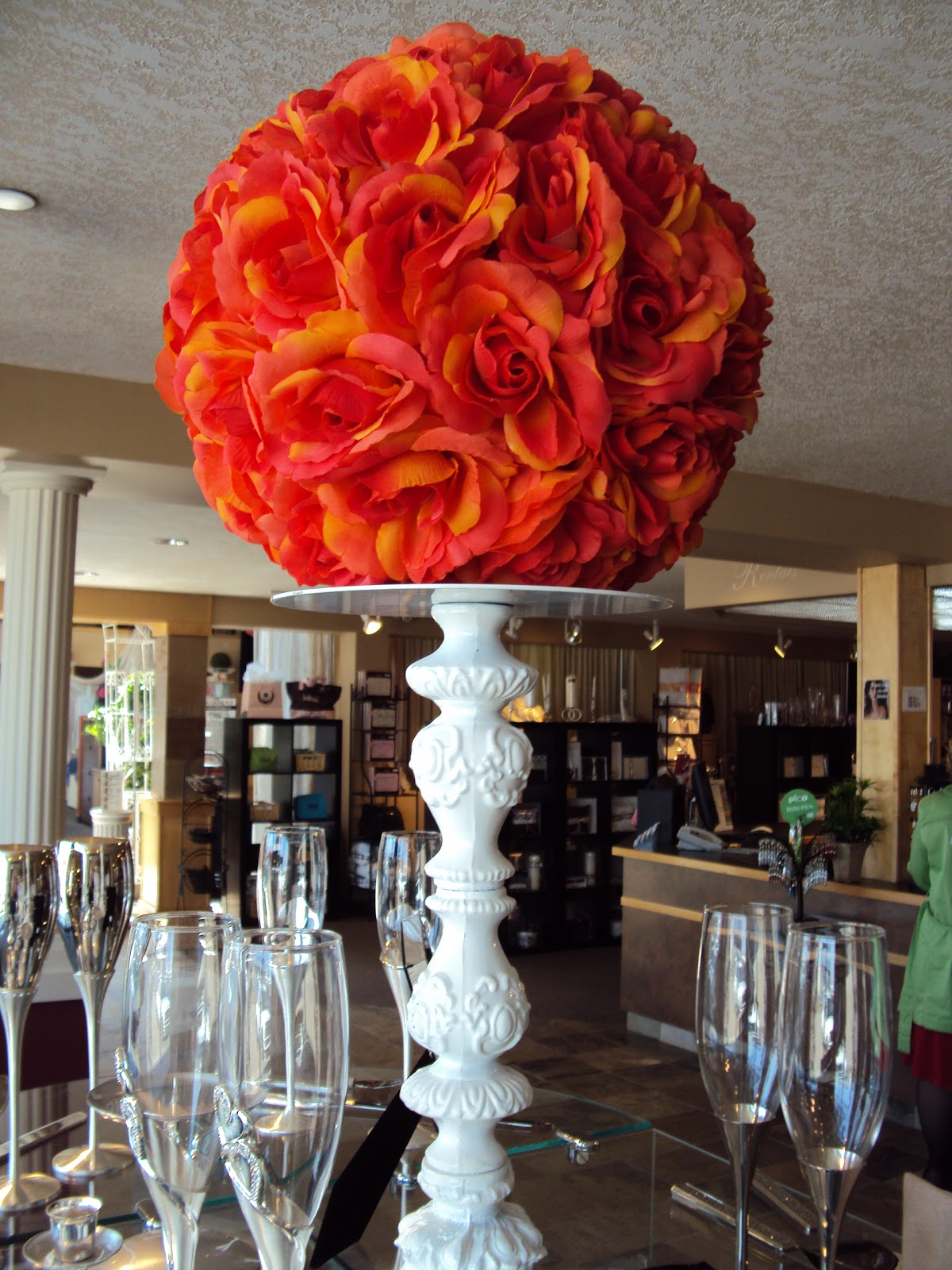 Made on Main Craft Confessions  Super Cheap Wedding Centerpieces
