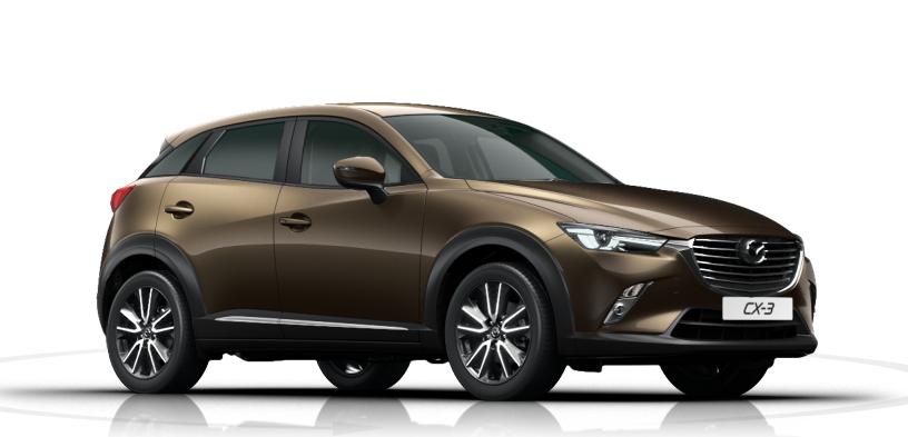 Mazda Cx 3 2017 Couleurs Colors