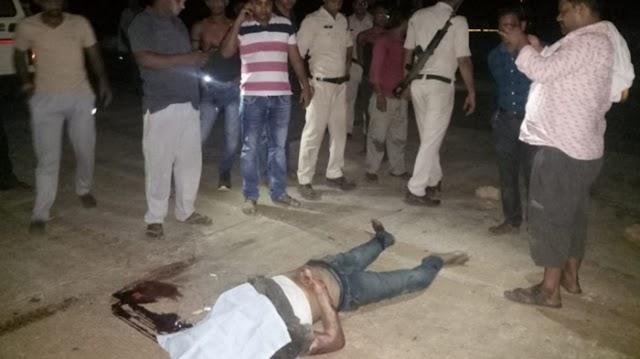 JABALPUR NEWS : बस में फंसकर 50 मीटर तक घिसटता गया मृतक
