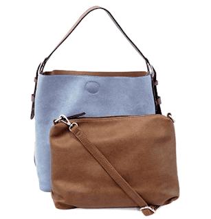 Joy Susan Women's Faux Leather Bag