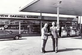 New Oakwell Garage forecourt