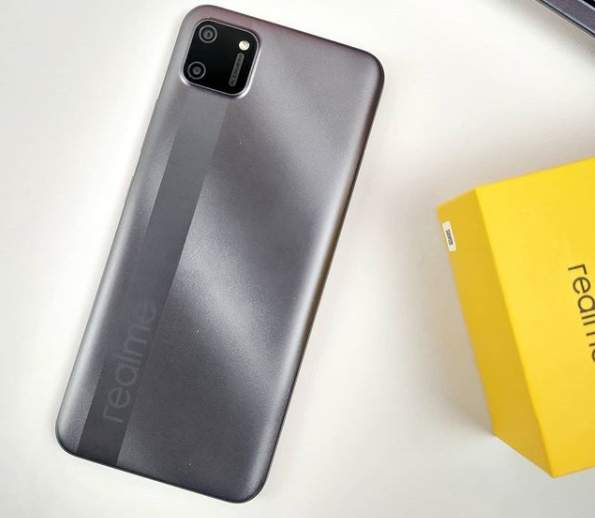Realme C11 Pepper Grey