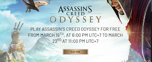 Assassin's Creed Odyssey Ubisoft via Uplay