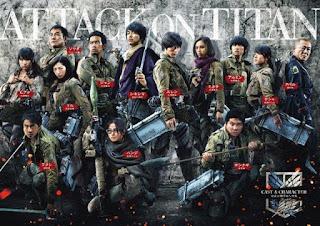 Download Film Attack on Titan Part 1 (2015) 720p HDRip Subtitle Indonesia