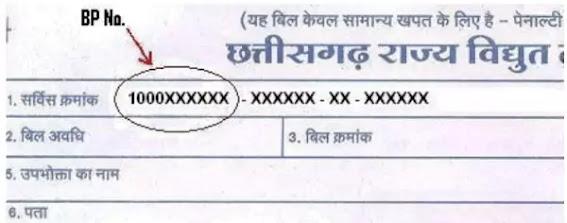 BP Number Kya Hai, CG Bijli Bill Kaise Check Kare