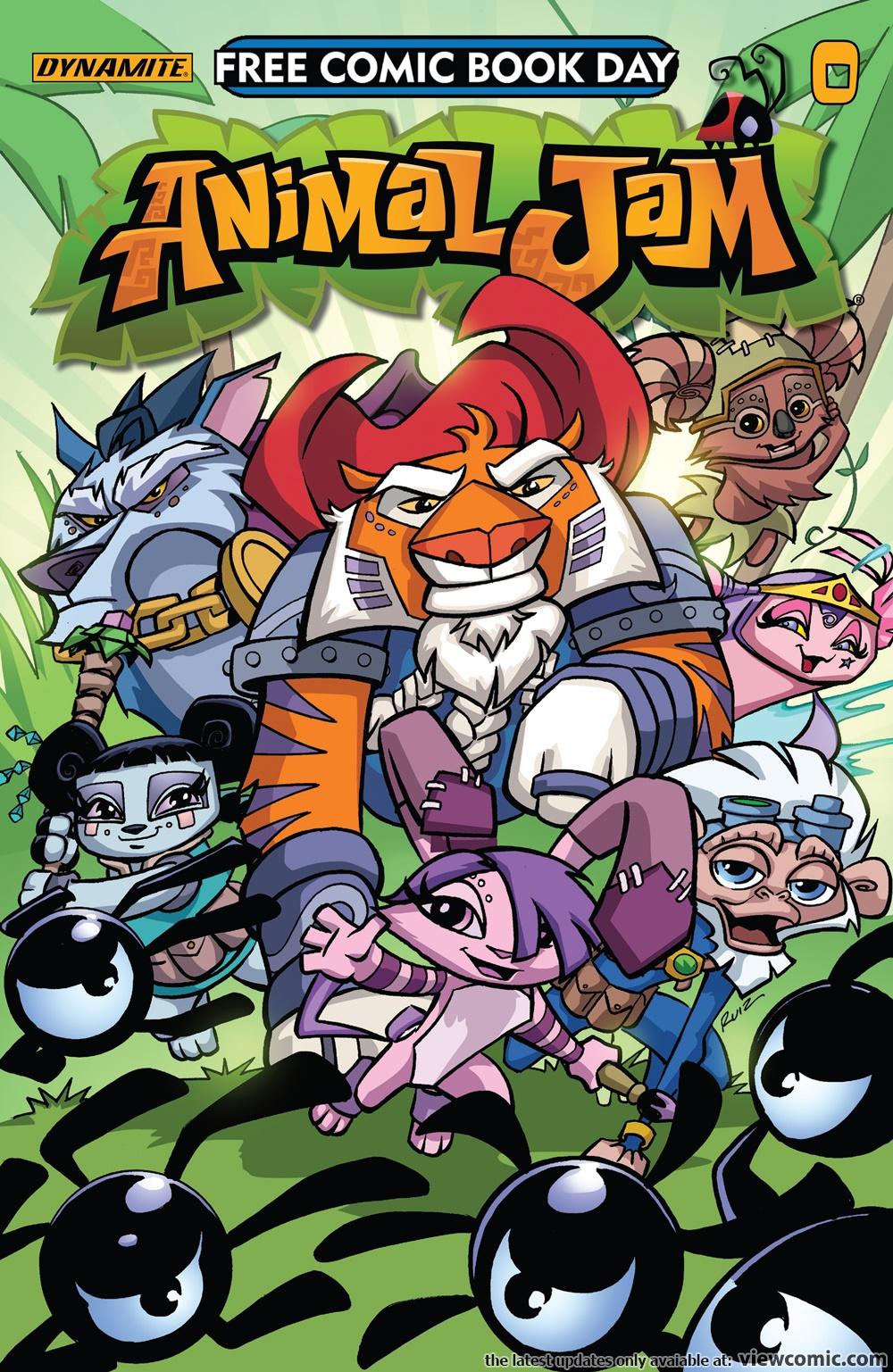 Free Comic Book Day 2017 – Animal Jam 000 (FCBD 2017