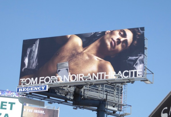 Tom Ford Noir Anthracite fragrance billboard