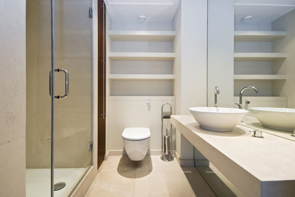Interior Design of Minimalist House Bathrooms