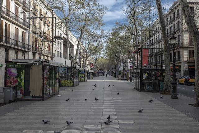 Lihat Bagaimana Bandar Besar Kini Kosong Disebabkan COVID-19