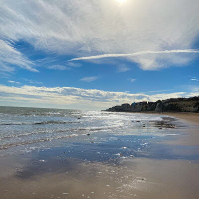 Stone Bay beach Kent