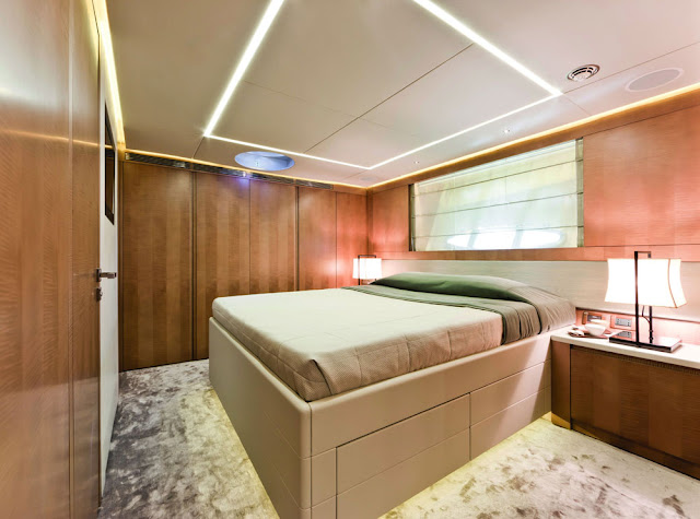 pershing 108 interior