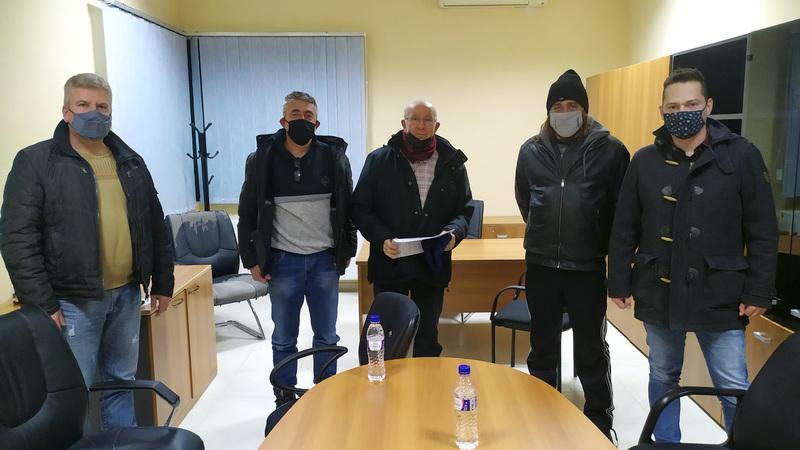 Συνάντηση αντιπροσωπείας του ΚΚΕ με τον Πρόεδρο της Κοινότητας Φυλακίου Ορεστιάδας για το ΚΥΤ