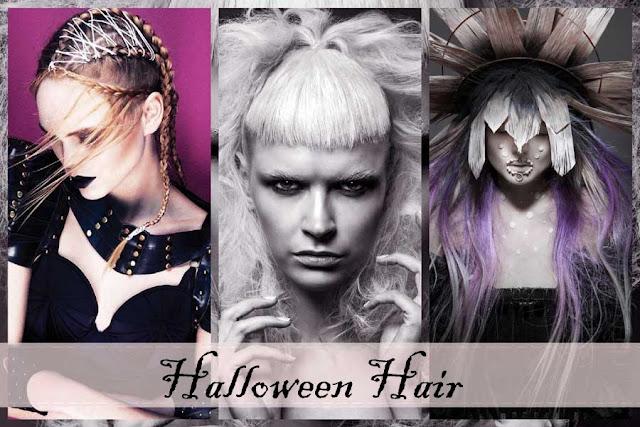 peinados para halloween 2017