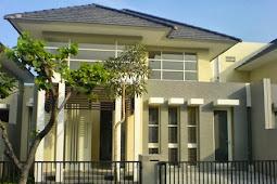 Gambar Rumah Sederhana Tampak Depan dengan Kombinasi Warna Menarik