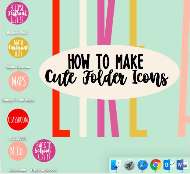 No  2 Pencils: File Folder Icons Makeover
