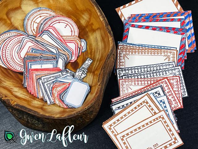 EGL21 Stamp Set - Stamped Labels by Gwen Lafleur