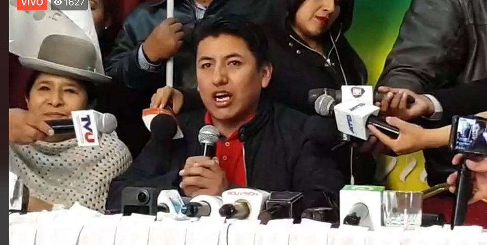 Pumari generó expectativa para tener cámaras en El Alto / RRSS