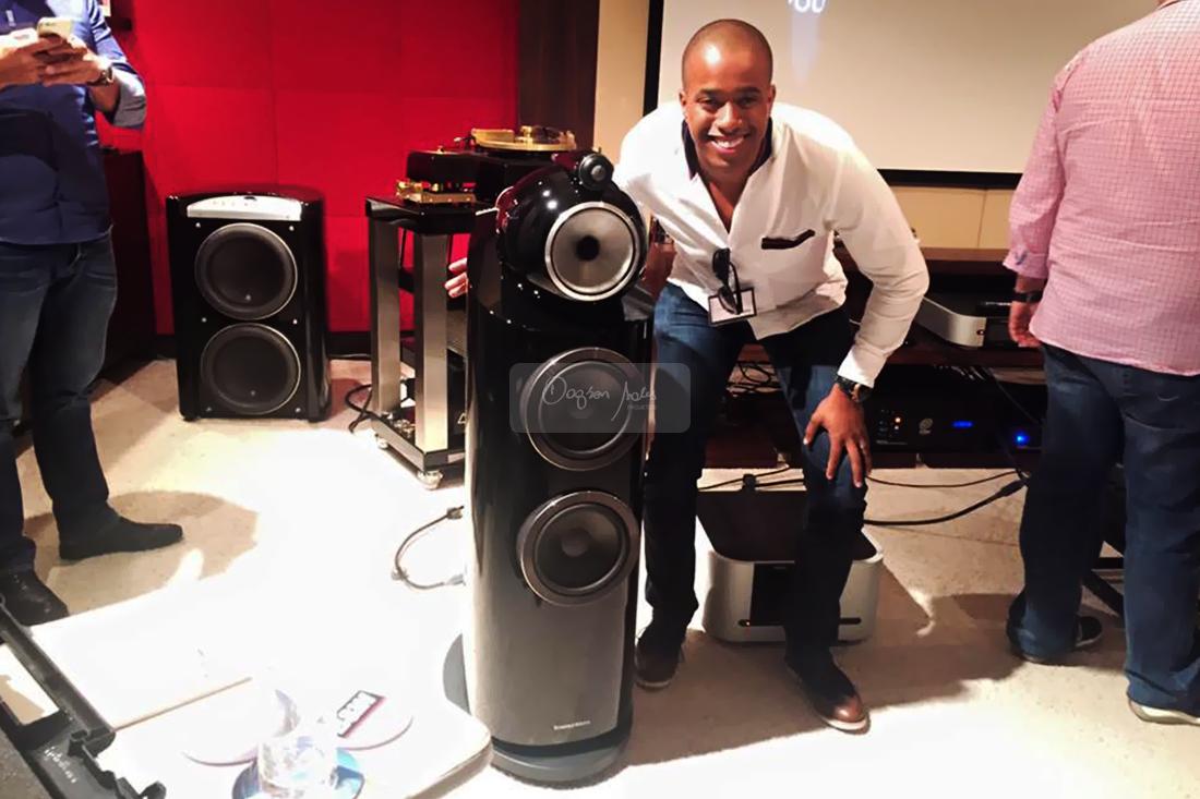 Segundo Dagson Sales, as caixas B&W 800 D3 são uma excelente escolha para quem busca a melhor qualidade em caixas acústicas