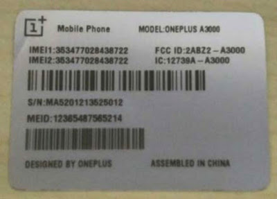 OnePlus 3 Telah Mendapatkan Sertifikasi FCC