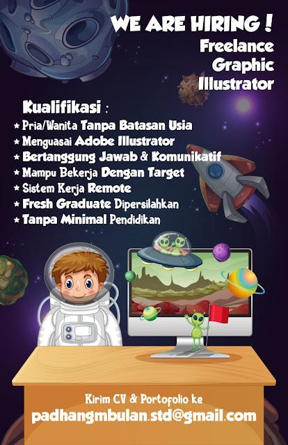 Lowongan Kerja Freelance Graphic Illustrator Padhang Mbulan Studio Rembang Tanpa Syarat Pendidikan