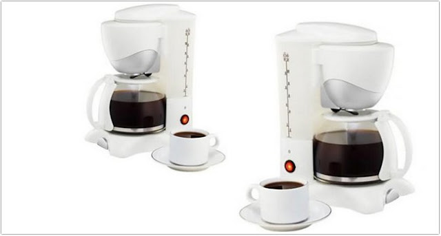 Sharp HM-80L-W Coffee Maker;Coffee Maker With Carafe And Single Serve;