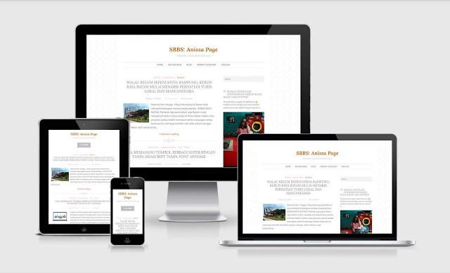 blogger template simple classic