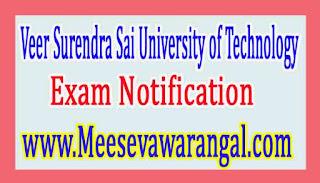 Veer Surendra Sai University of Technology B.Tech IInd / IIIrd Year Regarding Summer Training Notice