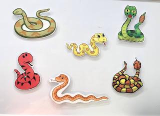 Snake storytime, snake rhyme