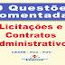 Questões comentadas sobre Licitações e Contratos Administrativos