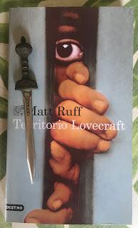 Portada del libro Territorio Lovecraft, de Matt Ruff