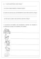 Texto e Atividade A Onça Doente PDF Grátis